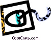 Vector Clip Art picture  of a computer mouse