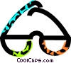 Vector Clipart image  of a eyeglasses
