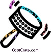 Vector Clip Art picture  of a musical instrument