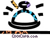 Vector Clipart graphic  of a bell