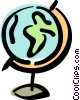 globe Vector Clip Art graphic