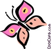 butterfly Vector Clip Art graphic