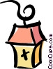 Vector Clip Art graphic  of a streetlight