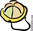 rain hat Vector Clipart illustration