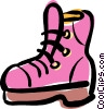 work boots Vector Clipart picture