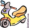 scooter Vector Clip Art graphic
