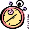 Vector Clipart graphic  of a stopwatch