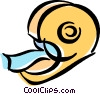 tape dispenser Vector Clipart image
