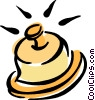 Vector Clipart image  of a bell
