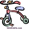 tricycle Vector Clipart picture