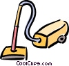 Vector Clipart illustration  of a vacuum