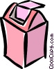 Vector Clip Art graphic  of a garbage can