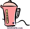 coffee pot Vector Clipart illustration