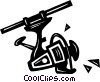 fishing reel Vector Clip Art graphic