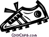 cleat/shoe Vector Clip Art graphic