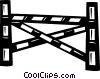 hurdle Vector Clipart picture