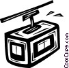 Vector Clipart graphic  of a gondola