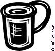 cup Vector Clip Art graphic