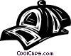 baseball hat Vector Clip Art graphic