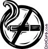 no smoking Vector Clipart illustration