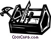 toolbox Vector Clip Art graphic