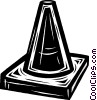 Vector Clipart graphic  of a pylon