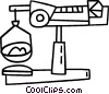 Vector Clipart picture  of a scale