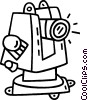 telescope Vector Clip Art picture