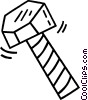 Vector Clipart picture  of a bolt