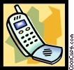 Vector Clip Art picture  of a cell phone