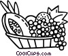 fruit groups Vector Clipart graphic
