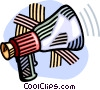 Vector Clip Art graphic  of a megaphone
