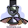 microphone Vector Clipart picture