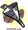 Vector Clip Art image  of a funnel