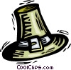 pioneer hat Vector Clipart graphic