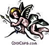 Vector Clip Art picture  of a cupid