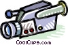 video camera Vector Clipart picture