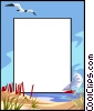 Vector Clip Art image  of a background/frame