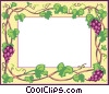 Vector Clipart image  of a background/frame