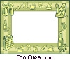 background/frame Vector Clipart image