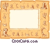 background/frame Vector Clipart graphic