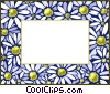 Vector Clip Art graphic  of a background/frame
