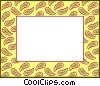 Vector Clip Art picture  of a background/frame