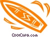 surfboard Vector Clipart picture