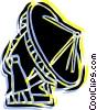 Satellite dish Vector Clip Art picture