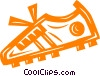 cleat/shoe Vector Clip Art image