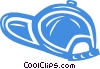 Vector Clip Art graphic  of a baseball hat