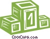 podium Vector Clipart illustration