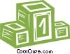 podium Vector Clip Art image