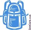 knapsack Vector Clip Art picture